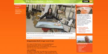 Kunst på arbejde på Bornholm – DR P4