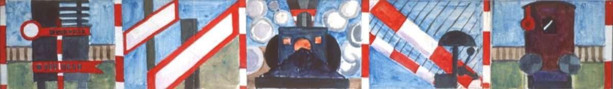 Albert Mertz - Togsignaler III  -  Albert Mertz - 1074A