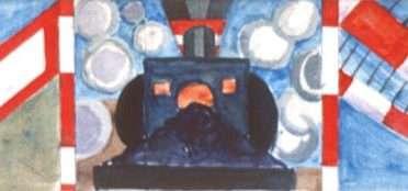 Togsignaler III  –  Albert Mertz – 1074A