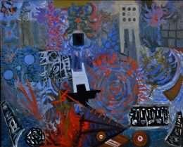 Albert Mertz 1920-1990 - Da helvedesmaskinerne trådte dansen  -  Albert Mertz 1920-1990 - 4211A