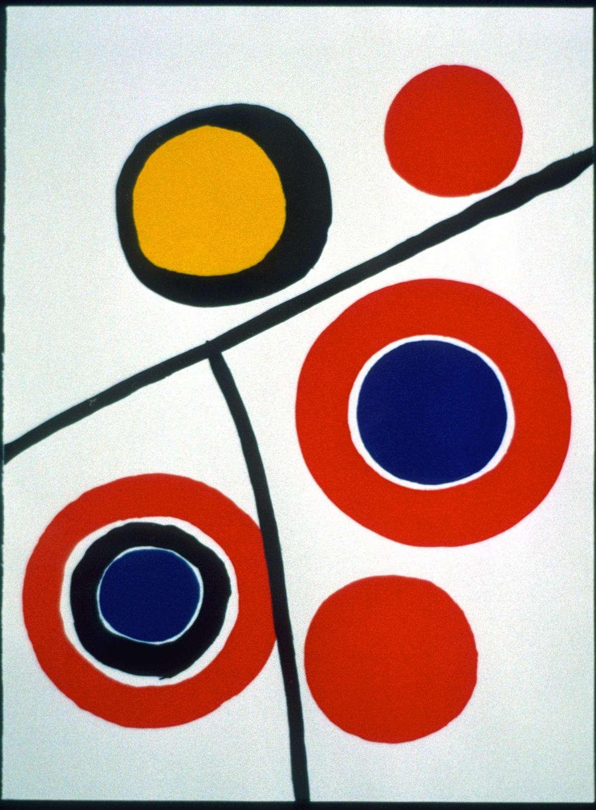 Alexander Calder - Komposition  -  Alexander Calder - 1833B
