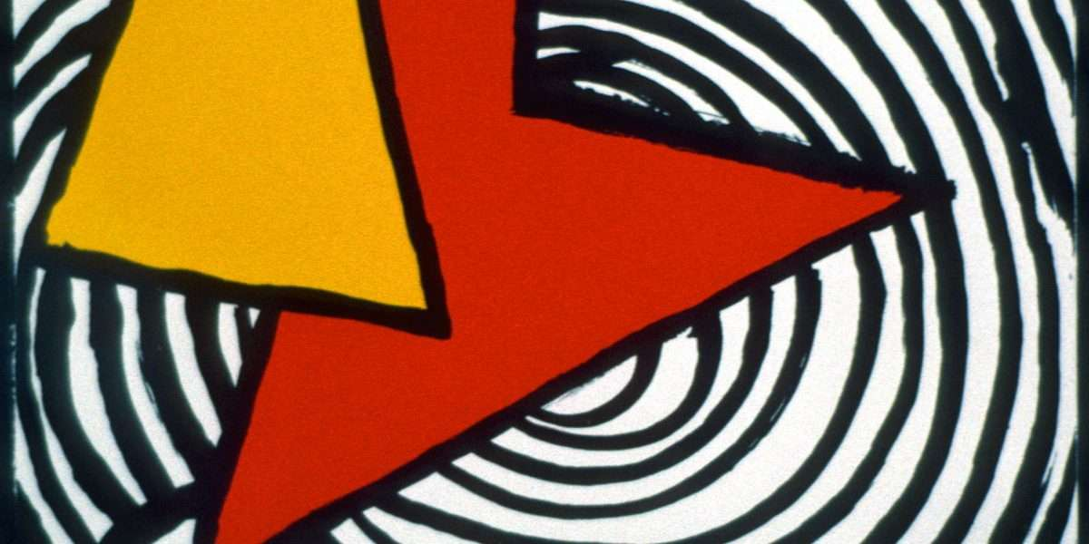Alexander Calder - Komposition  -  Alexander Calder - 1834B