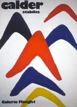 Alexander Calder - Calder stabiles  -  Alexander Calder - 2045B