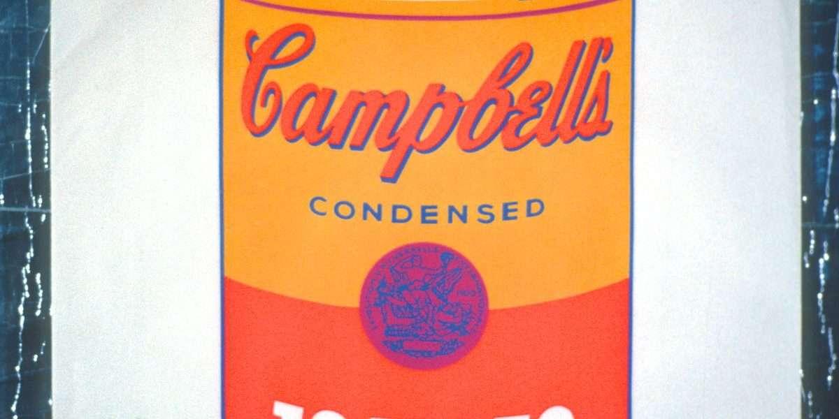 Andy Warhol - Cambells Tomato Soup - Andy Warhol - 2004B