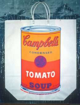 Andy Warhol - Cambells Tomato Soup  -  Andy Warhol - 2004B