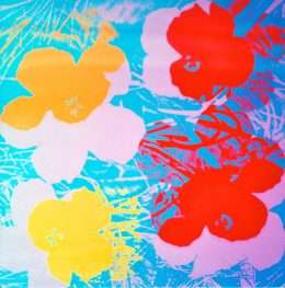 Andy Warhol - Komposition Flowers - Andy Warhol - 2044B
