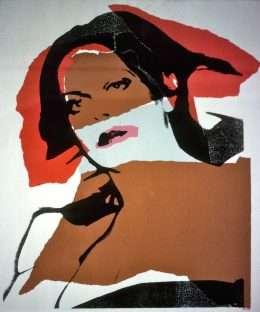 Andy Warhol - Fra transvestit-serien  -  Andy Warhol - 2275B