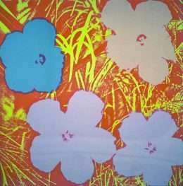 Andy Warhol - Flowers  -  Andy Warhol - 2626B