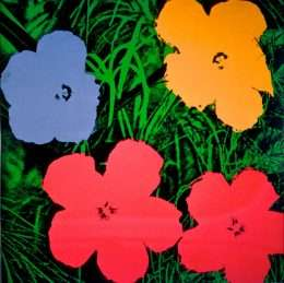 Andy Warhol - Flowers  -  Andy Warhol - 2628B