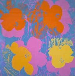 Andy Warhol - Flowers  -  Andy Warhol - 2629B