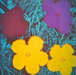 Andy Warhol - Flowers  -  Andy Warhol - 2632B