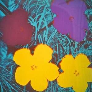Andy Warhol - Flowers  -  Andy Warhol - 2632B