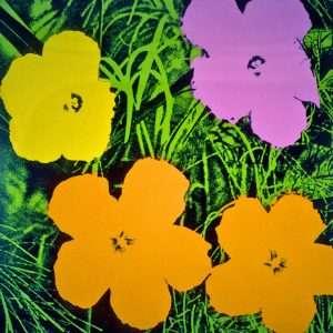 Andy Warhol - Flowers  -  Andy Warhol - 2633B