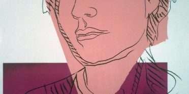 Selvportræt  –  Andy Warhol – 2848B