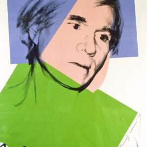 Andy Warhol - Selvportræt - Andy Warhol - 3899B