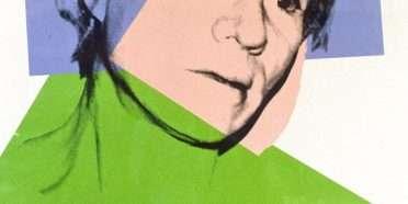 Selvportræt  –  Andy Warhol – 3899B