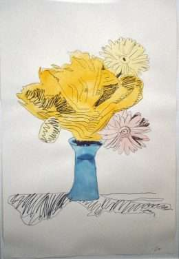 Andy Warhol - Flowers  -  Andy Warhol - 4279B
