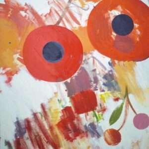Anna Fro Vodder - Spist frugt  -  Anna Fro Vodder - 4555A