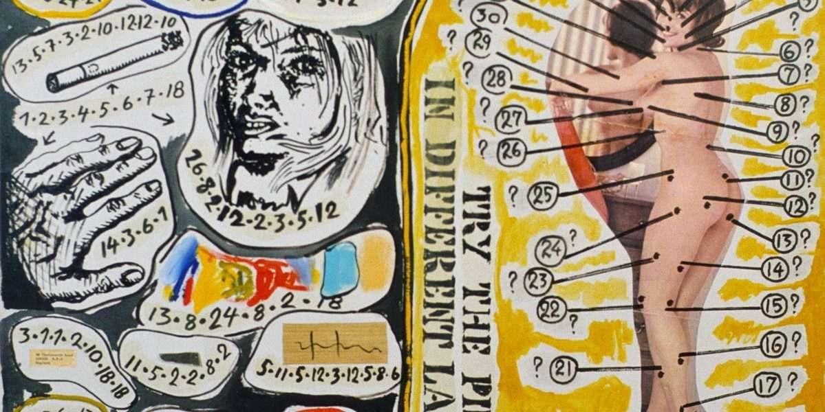 Arthur Køpcke - Piece nr 92+97+104 in the series of read/work pieces  -  Arthur Køpcke - 4212A
