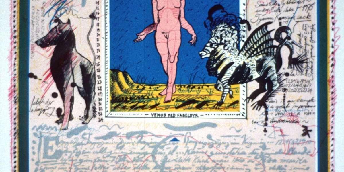 Claus Bojesen - Venus med fabeldyr  -  Claus Bojesen - 1986B