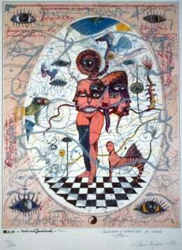 Claus Bojesen - Venus med Janushoved  -  Claus Bojesen - 1987B