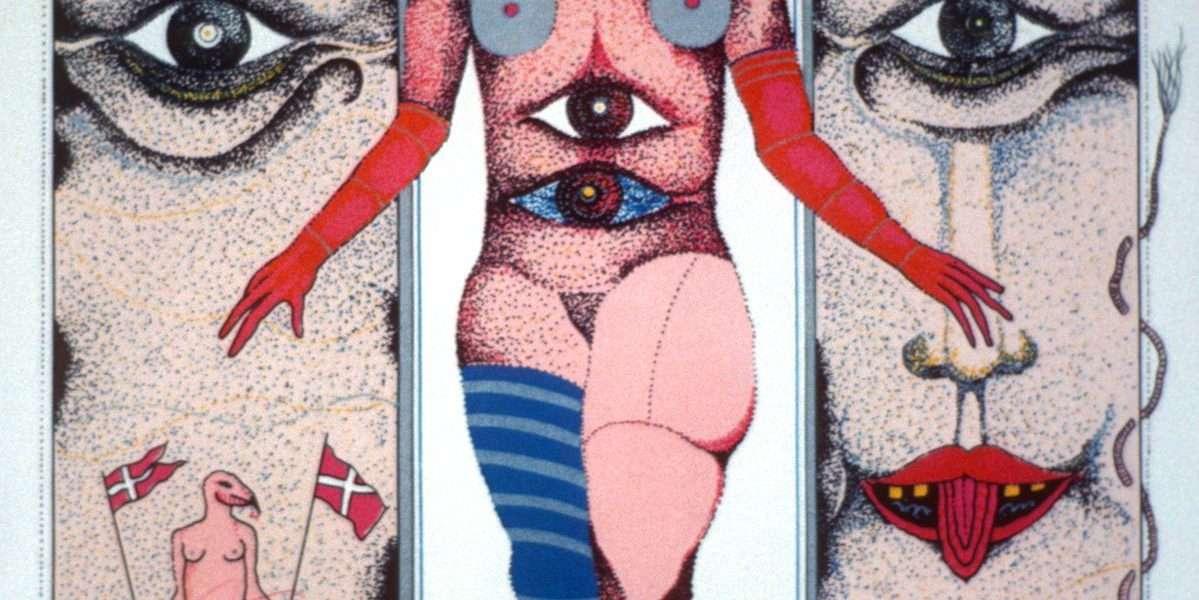 Claus Bojesen - Venus i fantastisk interiør - Claus Bojesen - 1990B