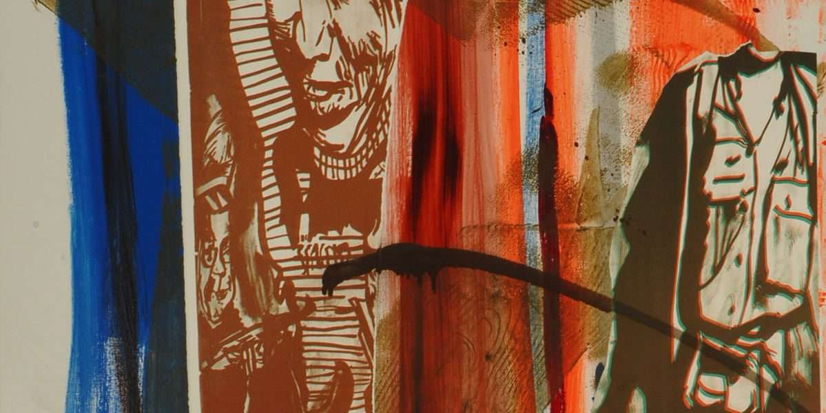 Claus Carstensen - Pollution of paint  -  Claus Carstensen - 4755A