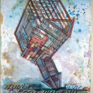 Dennis Oppenheim - Study for device to root out evil  -  Dennis Oppenheim - 4266A