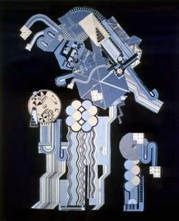 Eduardo Paolozzi - Komposition  -  Eduardo Paolozzi - 2046B