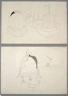 Egon Fischer - 2 Kompositioner - Egon Fischer - 2192A
