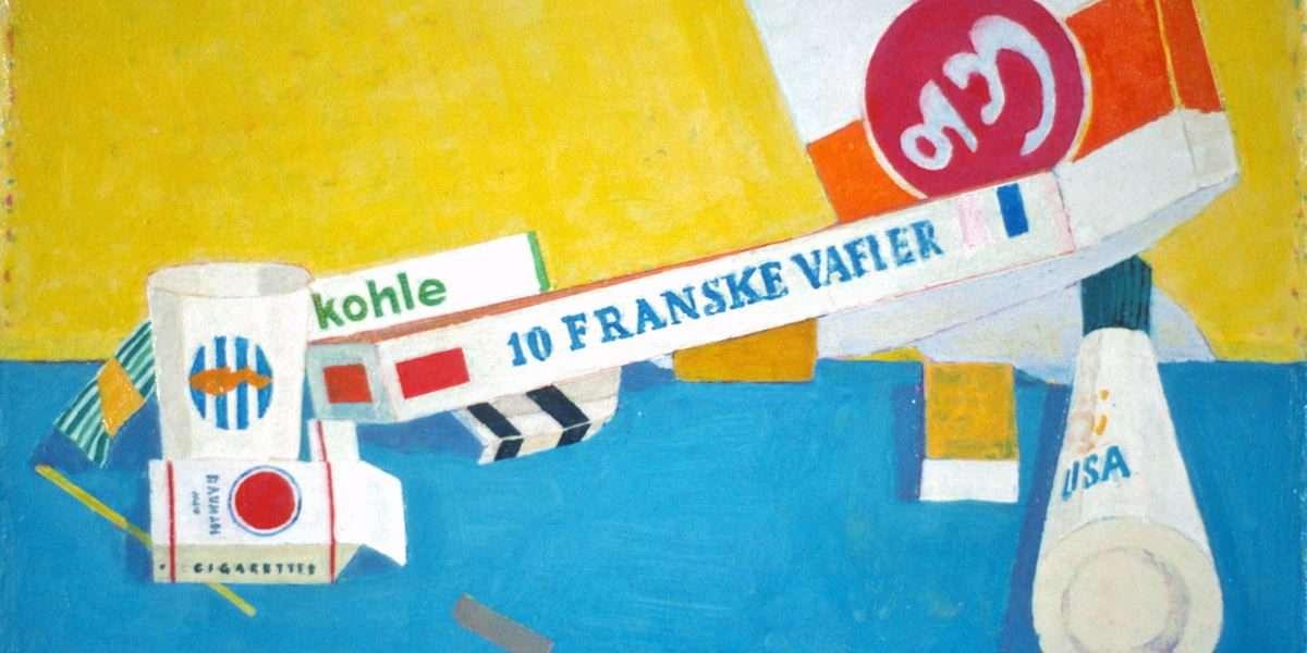 Finn Kirchheiner - Ting på bord 3  -  Finn Kirchheiner - 2758A