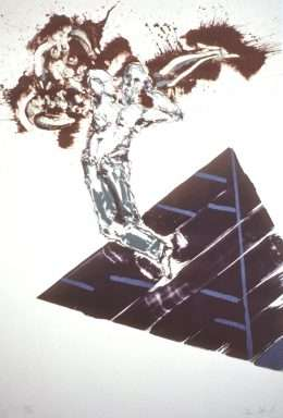 Frans Kannik - Sømand og pyramide  -  Frans Kannik - 3623B