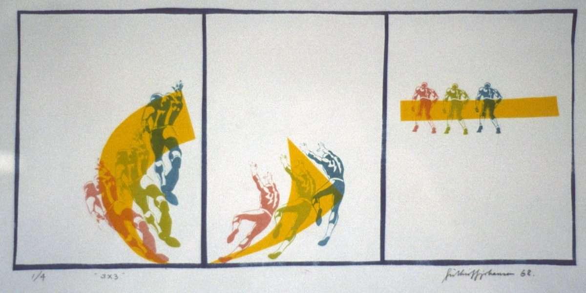 Frithioff Johansen - 3 x 3  -  Frithioff Johansen - 1277B