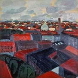 Hans Voigt Steffensen - Københavns tage  -  Hans Voigt Steffensen - 1575A