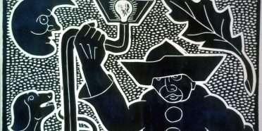 Den melankolske Pjerrot  –  Henry Heerup 1907-1993 – 1240B
