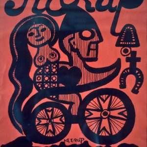 Henry Heerup 1907-1993 - Plakat  -  Henry Heerup 1907-1993 - 1268B