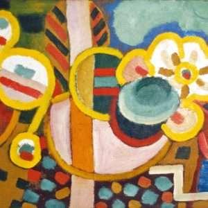 Henry Heerup 1907-1993 - Geometrisk Komposition  -  Henry Heerup 1907-1993 - 4107A