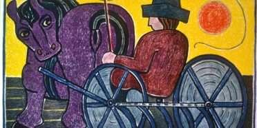 Høstmanden  –  Henry Heerup 1907-1993 – 770B