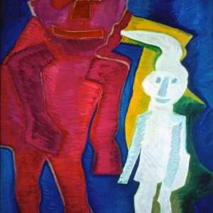 Herman Stilling - To troldegnomer  -  Herman Stilling - 2443A