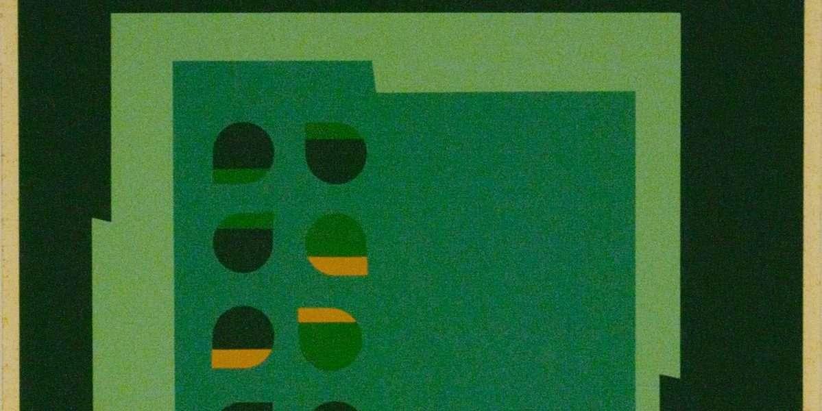 Ib Geertsen - Komposition IV - Ib Geertsen - 1681B