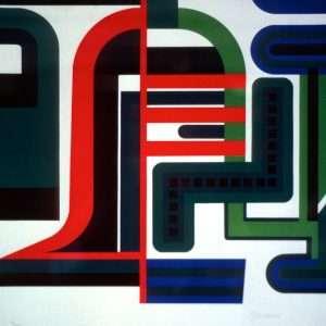 Jean Dewasne - Komposition  -  Jean Dewasne - 2118B