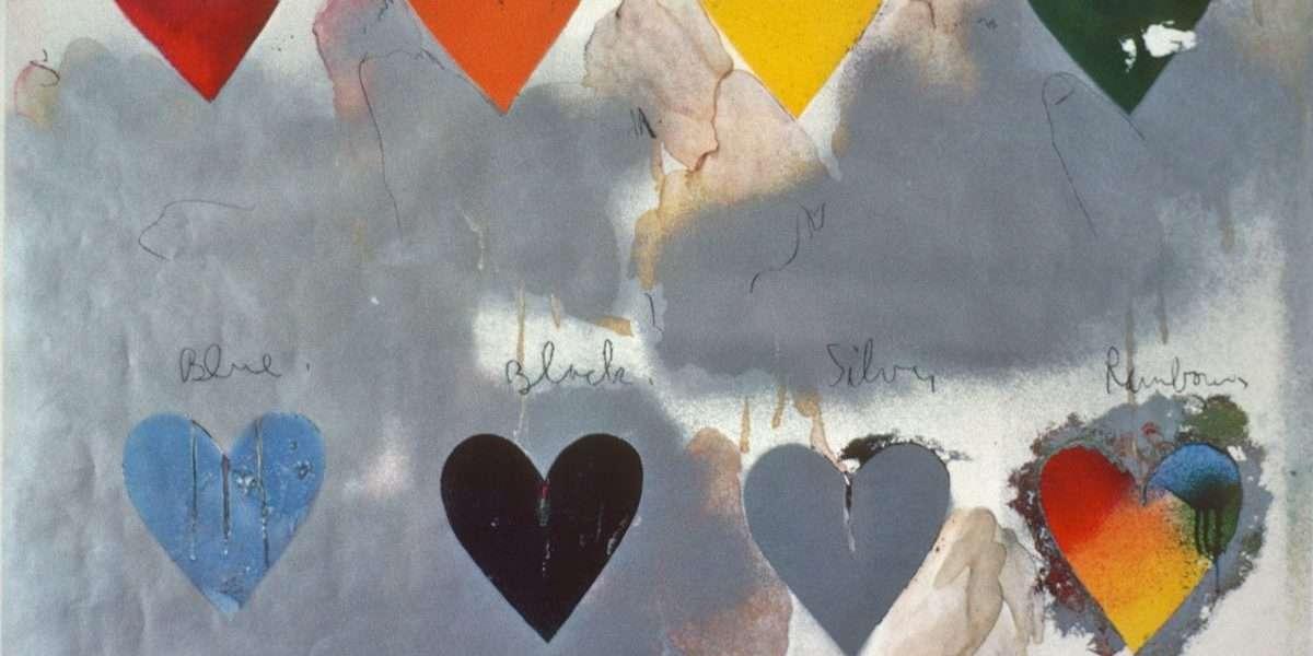 Jim Dine - Hjerter  -  Jim Dine - 2007B