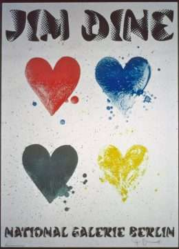 Jim Dine - National Galerie Berlin - Jim Dine - 2446B