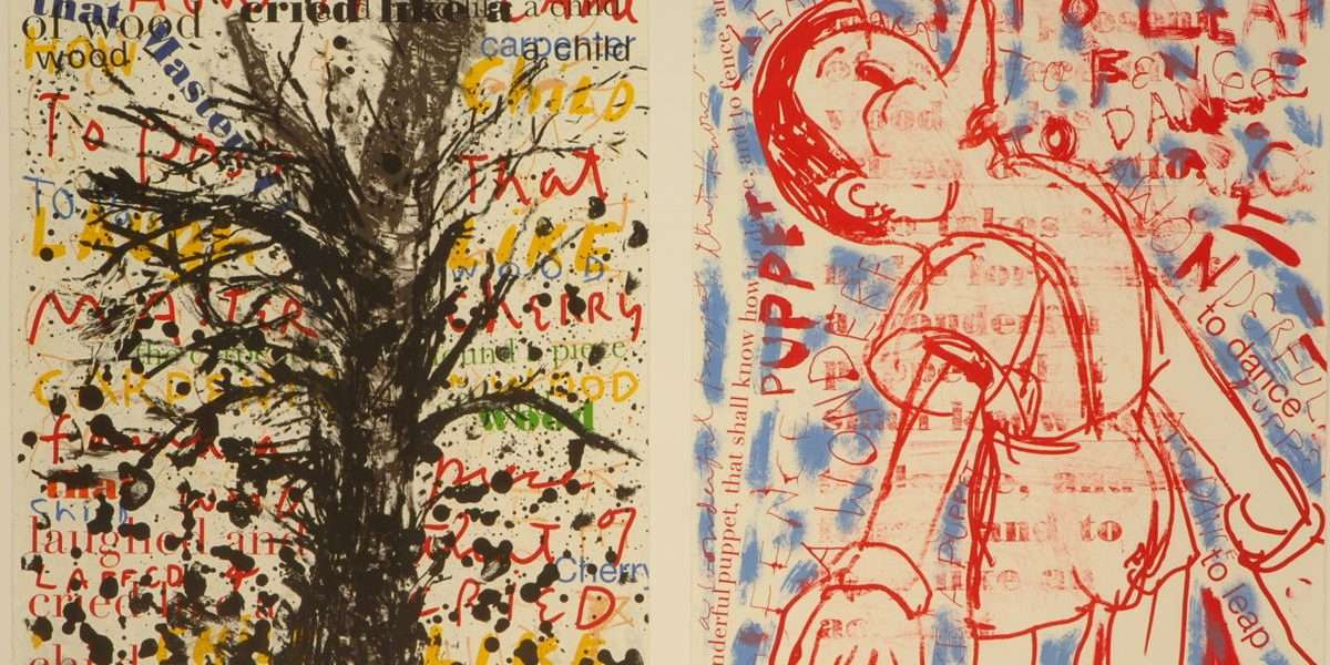 "Jim Dine - ""Pinocchio""  -  Jim Dine - 4697B-4698B"