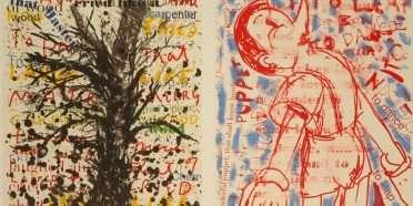 """Pinocchio""  –  Jim Dine – 4697B-4698B"