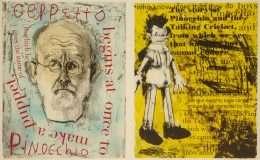 "Jim Dine - ""Pinocchio"" - Jim Dine - 4699B-4700B"