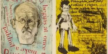 """Pinocchio""  –  Jim Dine – 4699B-4700B"