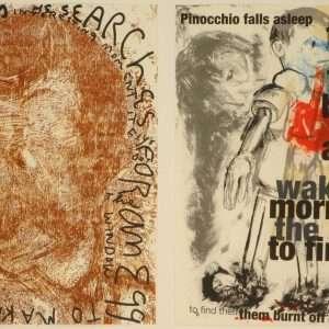 "Jim Dine - ""Pinocchio""  -  Jim Dine - 4701B-4702B"