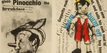 """Pinocchio""  –  Jim Dine – 4705B-4706B"