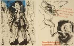 "Jim Dine - ""Pinocchio"" - Jim Dine - 4707B-4708B"